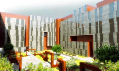 Concurso de edificio de viviendas en villaverde