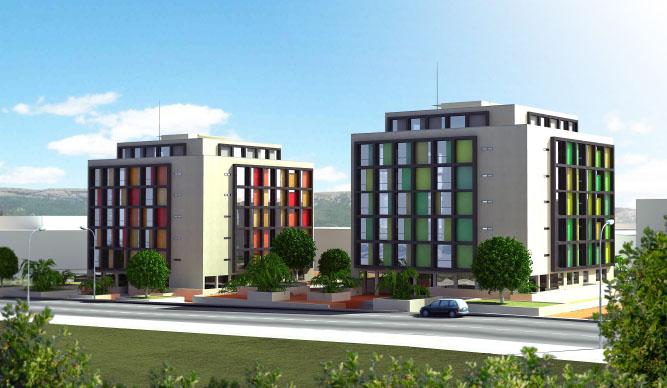 Edificio de 65 Viviendas en Móstoles