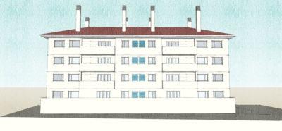 Edificio de viviendas en Majadahonda