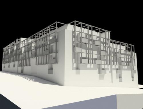 Propuesta de Edificio de viviendas en Madrid